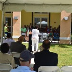 Grand opening ceremony of the Village Square Phase II